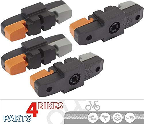 P4B Hydraulik Power-Pads für Magura, 3-farbig, 2 Paar = 4 Stück