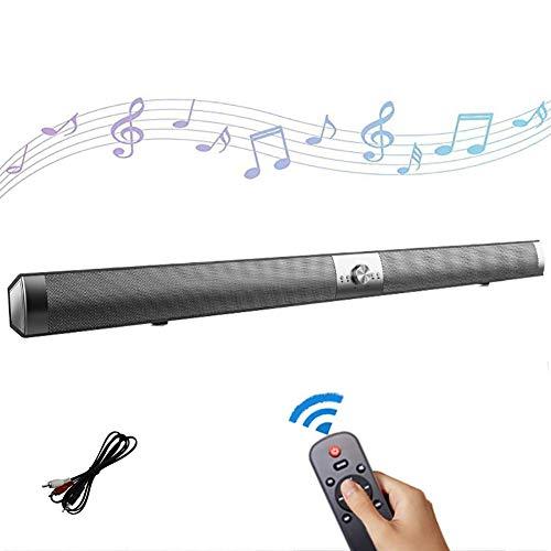 ZJZ Draadloze 4.2 Bluetooth Speaker Sound Bars voor TV met ingebouwde Subwoofer Surround Sound Soundbar Home Theater Systeem