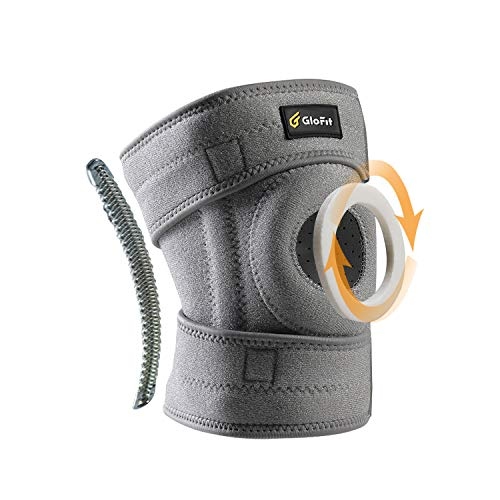 Glofit Adjustable Knee Brace,Open Patella Stabilizer Knee Support, Non-Slip Breathable Compression...