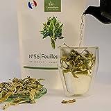 N.56 Hojas de salvia - Té de hierbas de salvia grande, hoja - Vegano, natural, sin aditivos - Cocina, té, postre, infusión y bebida fría
