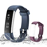 Muzili Activity Tracker, Bluetooth - Blue,Purple