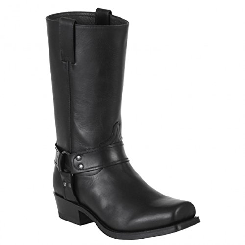 Sendra Boots 8833M SCHWARZ * incl. original Mosquito ® Stiefelknecht * (43)