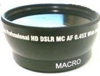 Wide Lens for Sony DCR-DVD650, Sony DCRDVD650, Sony HDR-XR200V