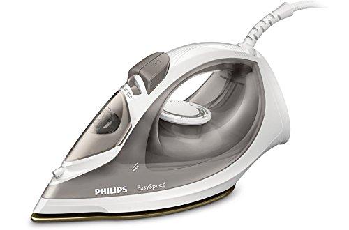 Philips EasySpeed gc1029/90Steam Iron Ceramic Soleplate 2000W Grey, White Iron–Irons (Steam Iron, Ceramic Soleplate, 100g/min, Grey, White, 25g/min, 0.2L)