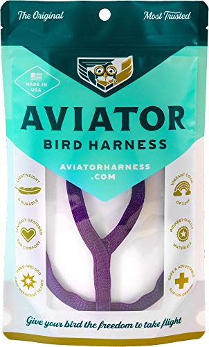 Le AVIATOR Oiseau Harnais: X-Large Pourpre