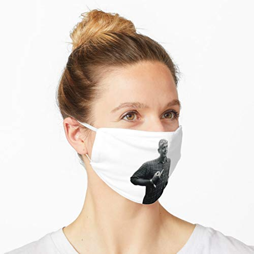 A n t h o n y B o u r d a i n Reusable And Washable Possible Blend Cover, Safety Personal Protection, With Filter And Adjustable Ear Loop Buckles 25858