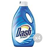 Set mit 4 Dash Waschmaschinen 19 Waschmaschine, klassisch, flüssig, Actilift Waschmittel und Waschmittel