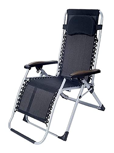 GAOLE Lightweight and durable Lazy Recliner Folding Lunch Break Siesta Bed Artifact Portable Office Balcony Home Leisure Elderly Backrest Bamboo And Rattan for outdoor camping, hiking
