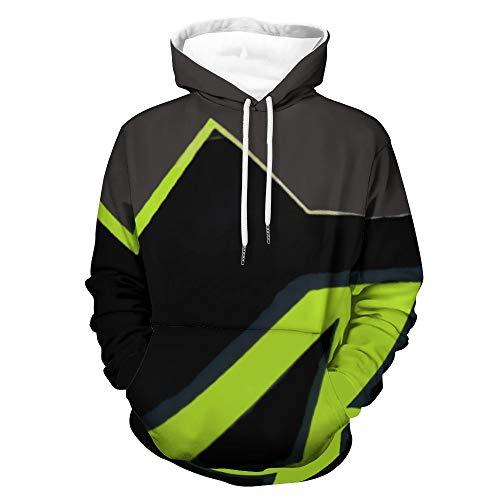 best & Valentino Rossi - Sudadera con capucha para adolescentes con impresión completa