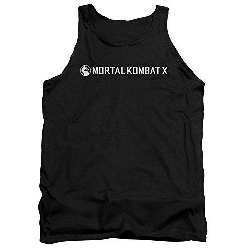 Mortal Kombat - - Logo horizontal pour hommes Débardeur, Medium, Black