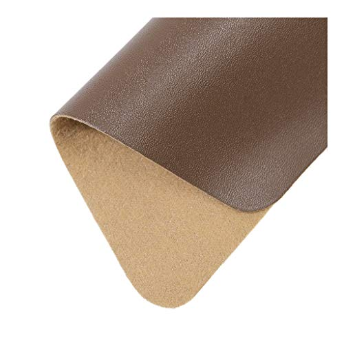 LYRWISHLTD Polipiel elástica Tela de Cuero Sintetico Tela de tapicería Impermeable para tapizar, Manualidades, Cojines o forrar Objetos Venta de Polipiel por Metros(1.38X1m/4.52X3.28ft)