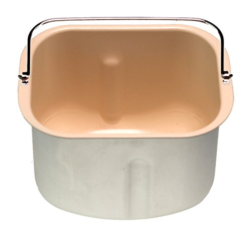 Keramik-Backform 6845670 kompatibel mit/Ersatzteil für Unold 68456 Brotbackautomat, Backmeister