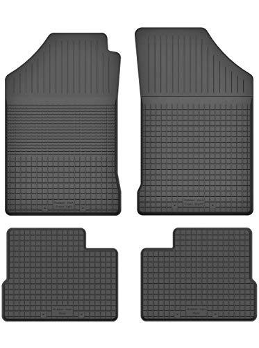 KO-RUBBERMAT Gummimatten Fußmatten 1.5 cm Rand geeignet zur OPEL Vectra A, B (Bj. 1988-2002) ideal angepasst 4 -Teile EIN Set