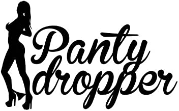 Panty Dropper JDM - Sticker Graphic - Auto, Wall, Laptop, Cell, Truck Sticker for Windows, Cars, Trucks