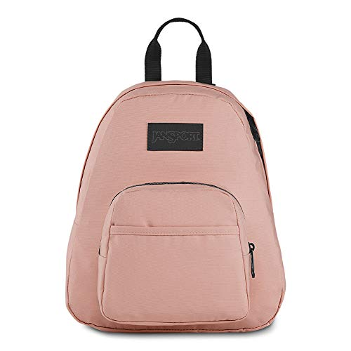 JanSport Half Pint LS Mini Backpack - Ideal Day Bag for Travel & Sightseeing | Rose Smoke