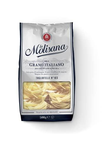 La Molisana, Tagliatelle n.103 Pasta Lunga, SOLO Grano Italiano - 500g