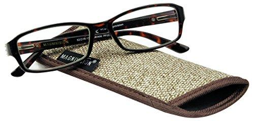 Magnivision Foster Grant Reading Glasses, Alana, Strength 3.0
