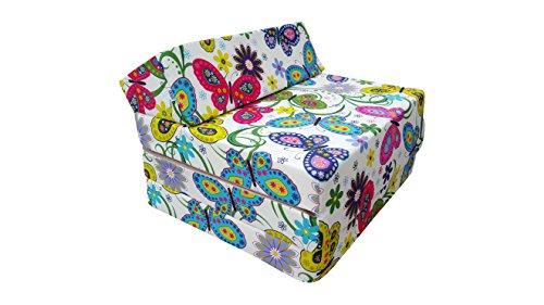 Natalia Spzoo Colchón plegable, cama de invitados, colchón de espuma 200x70 cm (Garden)