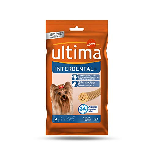 Ultima Snacks para Perros Mini Interdental - 70 gr
