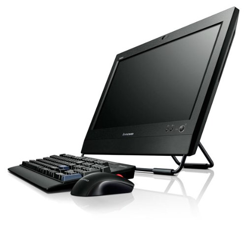 Lenovo ThinkCentre M72z 3543B1G (20 inch) All-In-One Desktop PC Core i3 (3220) 3.3GHz 4GB 500GB DVD±RW WLAN BT Webcam Windows 7 Pro 64-bit/Windows 8 Pro RDVD (Intel HD Graphics) Black