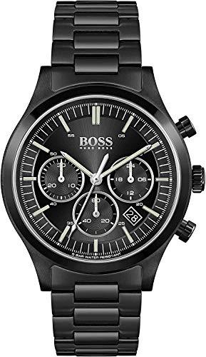 Hugo Boss Quarz Uhr mit Edelstahl Armband 1513802