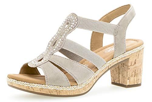 gabor sandalette beige