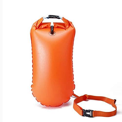 MTON Boya de natación Bolsa Seca Bolsa de Flotador de Remolque de natación Inflable para Piscina Bolsa de Seguridad para Aguas Abiertas