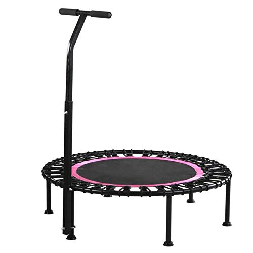 Trampoline home indoor jumping bed adult sports fitness handrail sucker bounce bed (?????40???,??)
