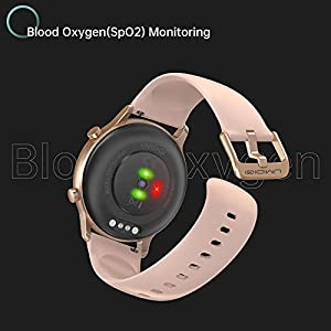 Smart Watch UMIDIGI Urun, Built-in GPS Activity Tracker for Women and Men, Fitness Tracker with Blood Oxygen Monitor and Heart Rate Monitor, 5ATM Waterproof Pedometer for iPhone Samsung.