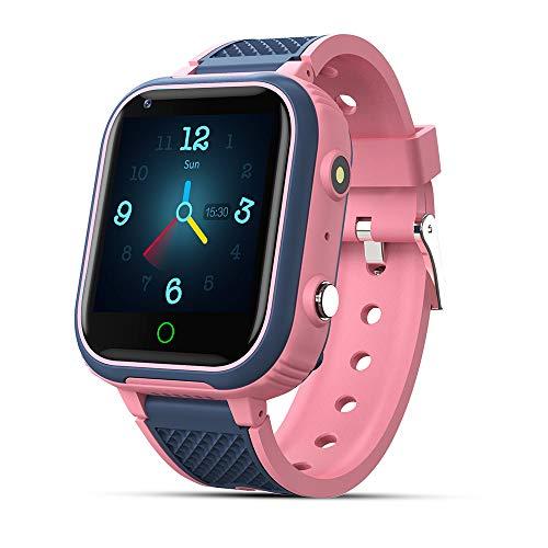 9Tong Tactile Smartwatch Enfant Tracker étanche Caméra Montre Tracker Enfants SOS Téléphone Montre GPS Enfant 4G Appel pour Fille Garçon Cadeau