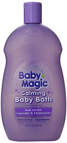 Baby Magic Calming Baby Bath, Lavender & Chamomile, 16.5 oz. by Baby Magic