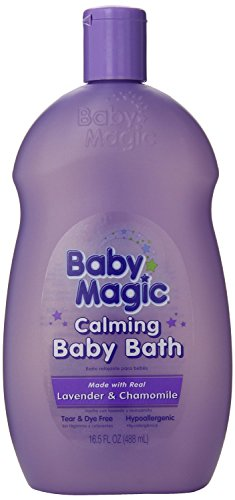 Baby Magic Calming Baby Bath 16.5 Ounce Lavender And Chamomile (488ml) (2 Pack)