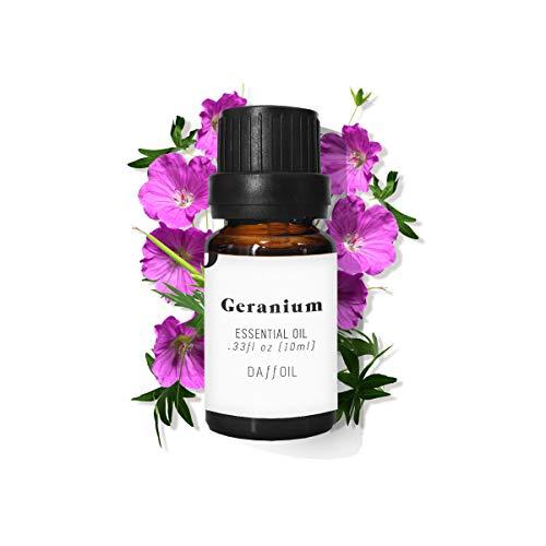 Aceite esencial geranio 10ml puro BIO 100% natural ecológico aromaterapia humidificador