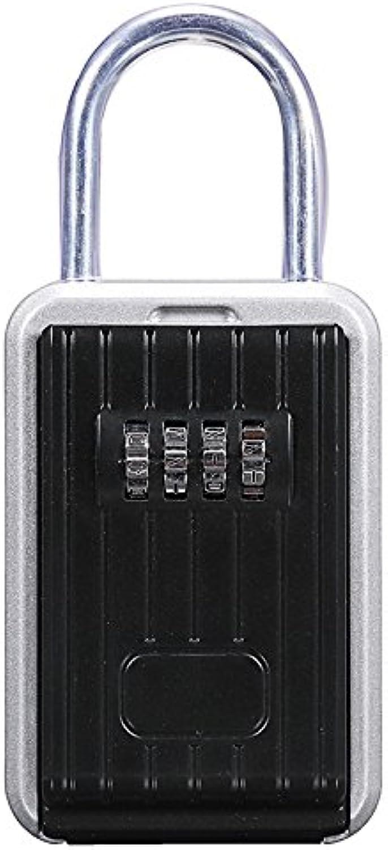 QIZIANG Sichere Aufbewahrung des Sicherheitsschlüssels Hide Box Kombinationsschloss Aluminiumlegierung Hot B07Q3MNFP1 | Ein Gleichgewicht zwischen Zähigkeit und Härte