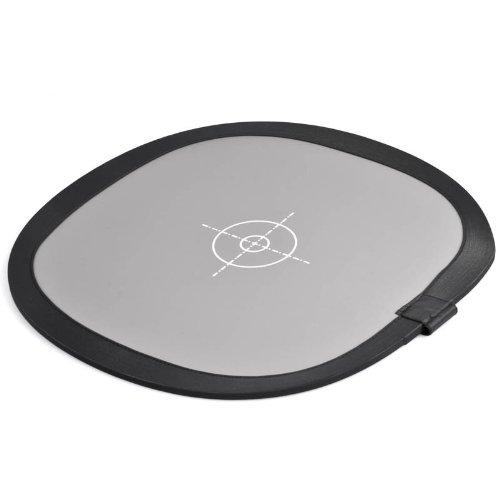 Quenox Graukarte 2-in-1 faltbar für Weißabgleich, Belichtungsmessung und Fokussierung