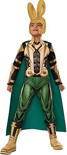 Avengers Assemble Loki Deluxe Costume, Child's Large