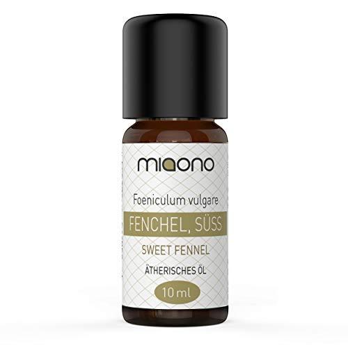 Fenchel (süß) Öl - 100% naturreines, ätherisches Öl (10ml) von miaono (Glasflasche)