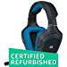 Logitech G430 7.1 DTS Headphone: X and Dolby Surround Sound Gaming Headset for PC, Playstation 4 - On-Cable Controls - Sports-Performance Ear Pads - Rotating Ear Cups - Light Weight Design (Renewed)