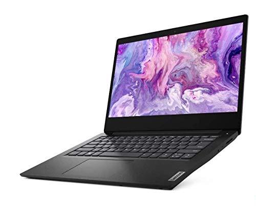 Newest Lenovo 14inch Laptop, Intel Pentium Gold 6405U Dual Core 2.4GHz Processor, 4GB RAM, 128GB SSD, Intel UHD Graphics, WiFi, Bluetooth, HDMI, Windows 10 (Renewed) (Black)