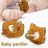 Baby Ciuccio Avent - Ciuccio in Silicone Argento Nano per Neonato - Succhietto Essenziale 0-6 Mesi - con Clip per Custodia Porta Denti Denti Ciuccio Soothie