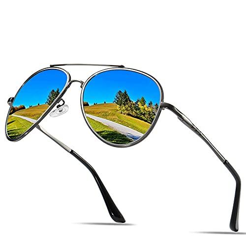 XJW Gafas de sol polarizadas para hombre y mujer Classic Dazzling UV400 2021/5/28