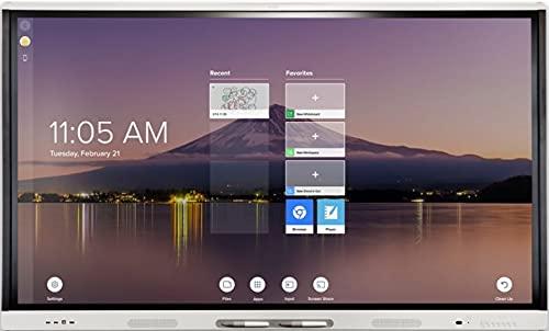 Pantalla Interactiva SMART Board MX 65' V2, SBID-MX265-V2 Incluye Software Pizarra Digital - Monitor Interactivo Ideal para Empresas y Colegios (65 Pulgadas)