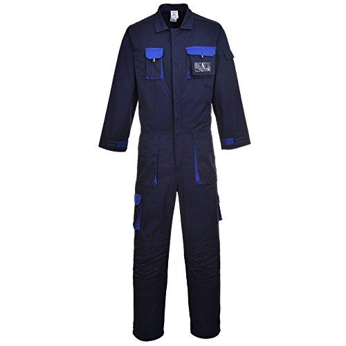 Portwest TX15NARL, mono antisalpicaduras Texo, regular, tamaño:grande, azul marino