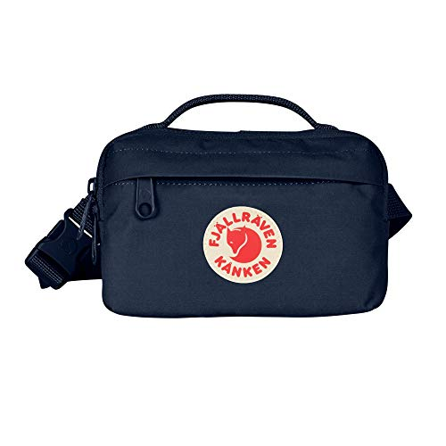 Fjallraven, Kanken Hip Pack with Waist Belt for Everyday Use and Travel, Navy