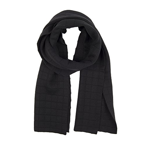 Dockers Men's Soft Winter Scarf, black casual, One Size