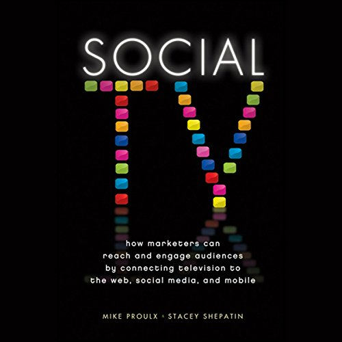Social TV audiobook cover art