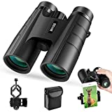 BNISE Binoculars for Adults Compact, 10X42 HD Professional, BAK4 Prism FMC Lens, Suitable for Outdoor Travel,...