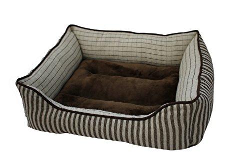 PETSPACES Stripe Rectangle Cuddler 25quotX21quot