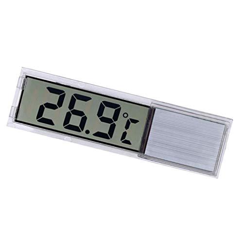 Fenteer LCD Digitales Wasser Thermometer, messbereich -45 bis +80 Grad - Silber