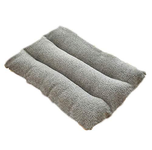 NLYR-hondenbed huisdier kussen orthopedische mat kist bed zacht kussen wasbaar kingbed voor middelgrote honden X-Large grijs